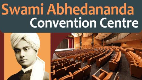 Swami Abhedananda Convention Centre at Belur Math